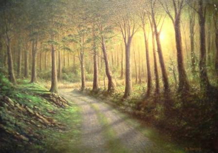 WoodsPaintingDennisBlalock