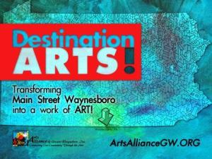 Destination Arts Poster Small