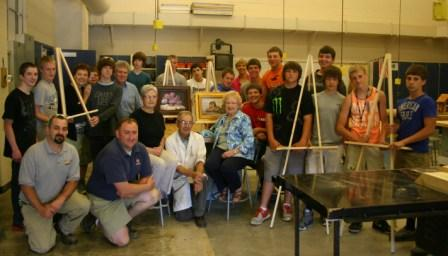 Easels for Arts Alliance Small
