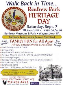 Renfrew Heritage Day Flyer