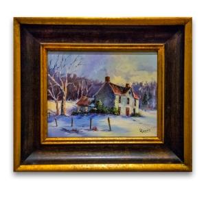 Laua Lewis Shindle winter scene