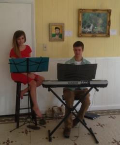 Rebecca Reed & Evan Bennetch