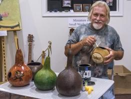 Denny Bingaman - Gourd Art