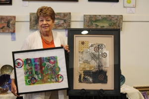 Laura Shindle Abstract Show Photo