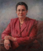 A commissioned portrait by Marjorie Tressler