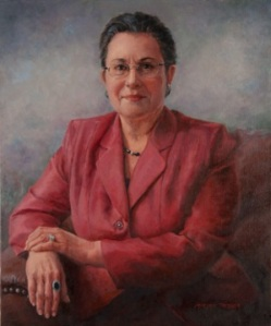 A commissioned portrait by Marjorie Tressler