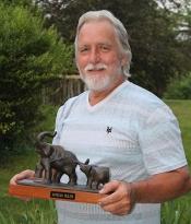 Denny with Elephant