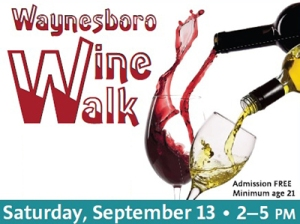 Waynesboro Wine Walk Logo