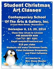 CSAGI-Flyer-Christmas Classes