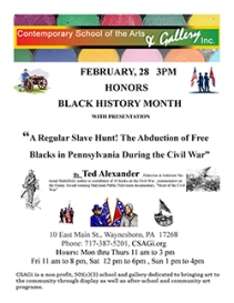 casagi Black History Month Civil War Flier Feb 2015-250