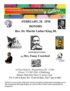 casagi Black History Month MLK300