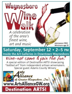 2015 Wine Walk Flyer