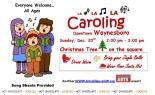 Caroling in downtown Waynesboro